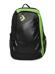 Converse Unisex Black & Green Backpack