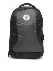 Converse Unisex Black & Grey Laptop Backpack