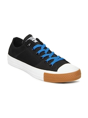 Converse Unisex Black Chuck Taylor All Star Tri-Panel Casual Shoes