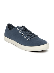 Converse Unisex Blue All Star Sideways Suede Casual Shoes