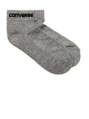 Converse Unisex Grey Melange Socks
