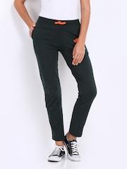 Converse Women Charcoal Grey Track Pants