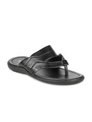 Coolers Men Black Sandals