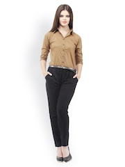 Cottinfab Women Brown Jumpsuit
