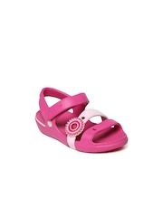 Crocs Girls Pink Keeley Sandals