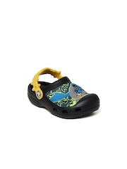 Crocs Kids Black Batman Custom Clogs