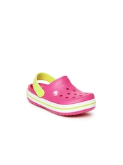 Crocs Kids Pink Crocband Clogs
