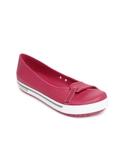 Crocs Women Pink Crocband 2.5 Flat Shoes