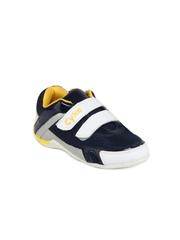 Cyke Boys Navy & White Uranus Casual Shoes