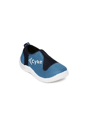 Cyke Kids Teal Blue & Navy Casual Shoes