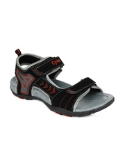 Cyke Men Avenger Black Sports Sandals