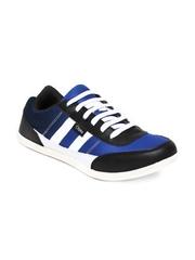 Cyke Men Blue & Black Casual Shoes