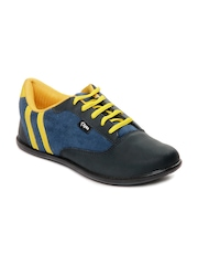Cyke Men Blue & Black Tracer casual Shoes