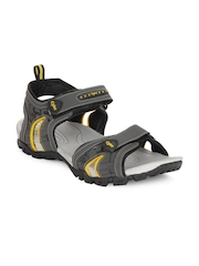 Cyke Men Grey Focus Sports Sandals