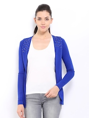 D Muse Blue Studded Shrug