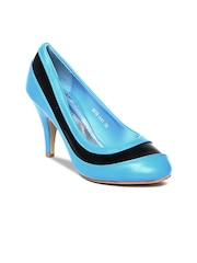 D Muse Women Blue Pumps