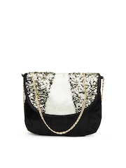 D Muse Black Sling Bag