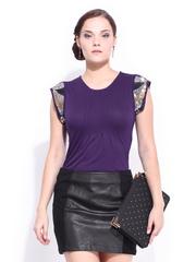 D Muse Women Purple Top
