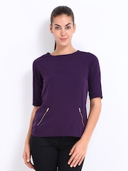 D Muse Women Purple Top