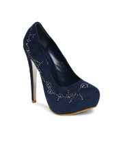 D Muse by DressBerry Women Navy Pumps