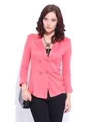 D Muse Women Pink Lady's Suit Blazer