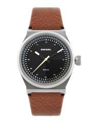 DIESEL Men Charcoal Grey & Black Dial Watch DZ1561I