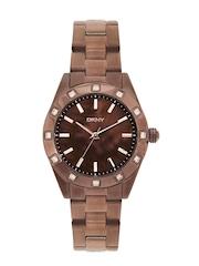 DKNY Women Brown Dial Watch
