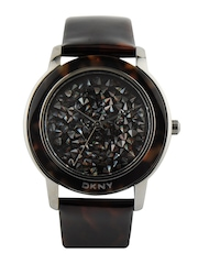 DKNY Women Shimmery Brown Dial Watch