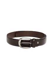 Dandy Men Brown Leather Belt