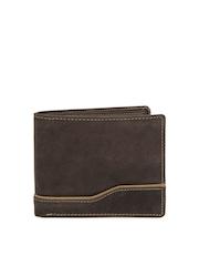Dandy Men Brown Leather Wallet