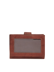Dandy Unisex Brown Leather Card Holder