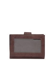 Dandy Unisex Dark Brown Leather Card Holder