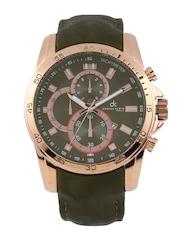 Daniel Klein Men Black & Grey Dial Watch DK10078-8