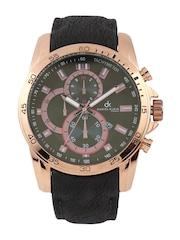 Daniel Klein Men Black & Grey Dial Watch DK10258-6
