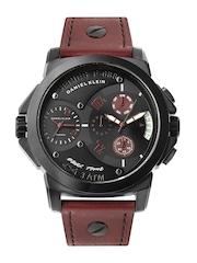 Daniel Klein Men Black Dial Watch DK10185-7