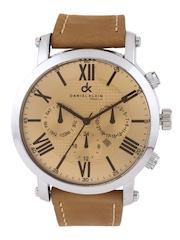Daniel Klein Men Copper-Toned Dial Watch DK10325-6