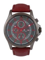 Daniel Klein Men Gunmetal-Toned Dial Watch DK10302-7