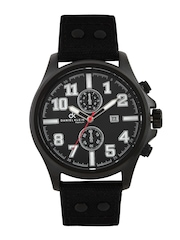 Daniel Klein Men Metallic Black Dial Watch DK10228-9
