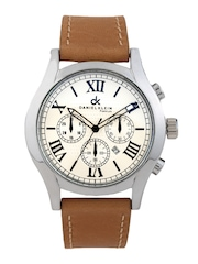 Daniel Klein Men Off-White Dial Watch DK10323-5