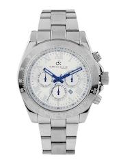 Daniel Klein Men Steel-Toned Dial Watch DK10169-4