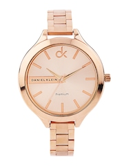 Daniel Klein Women Copper-Toned Dial Watch DK10313-4