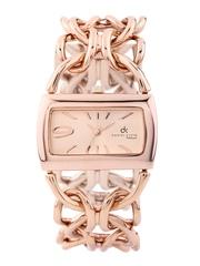 Daniel Klein Women Copper-Toned Dial Watch DK10090-3