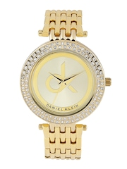 Daniel Klein Women Gold-Toned Dial Watch DK10401-3