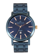 Daniel Klein Men Metallic Blue Dial Watch DK10272