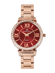 Daniel Klein Women Red Dial Watch DK10192-7