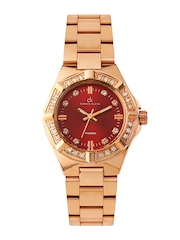 Daniel Klein Women Red Dial Watch DK10202-7