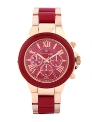 Daniel Klein Women Red Dial Watch DK10203-9