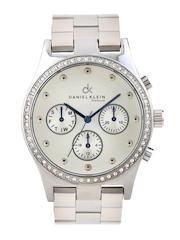 Daniel Klein Women Silver-Toned Dial Watch DK10303-2