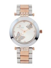 Daniel Klein Women Silver-Toned Dial Watch DK10331-6