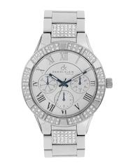 Daniel Klein Women Silver-Toned Dial Watch DK10355-2